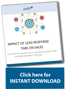 Download button for response path whitepaper